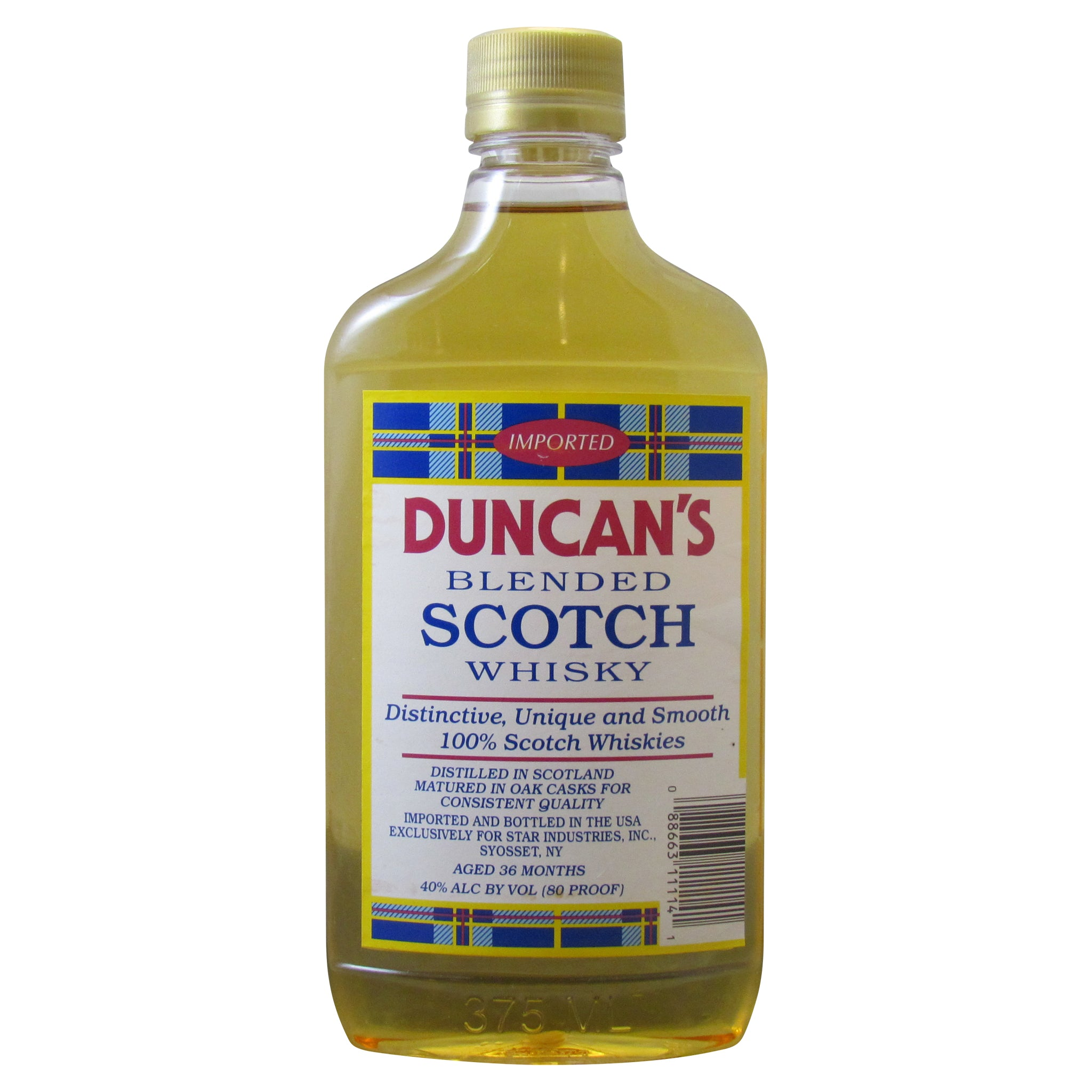 (375ml) Duncan's Blended Scotch Whiskey