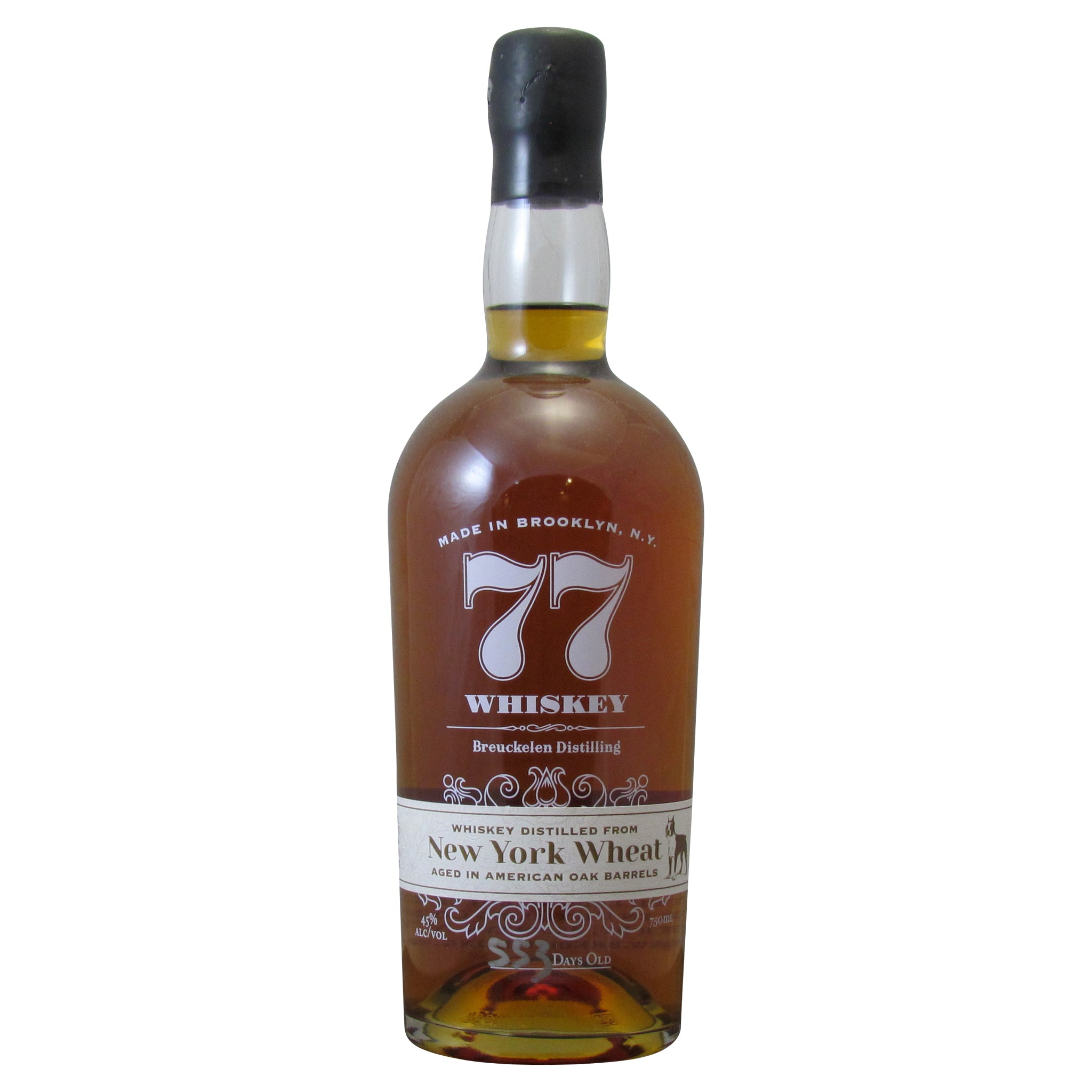 Breuckelen Distilling 77 Whiskey New York Wheat