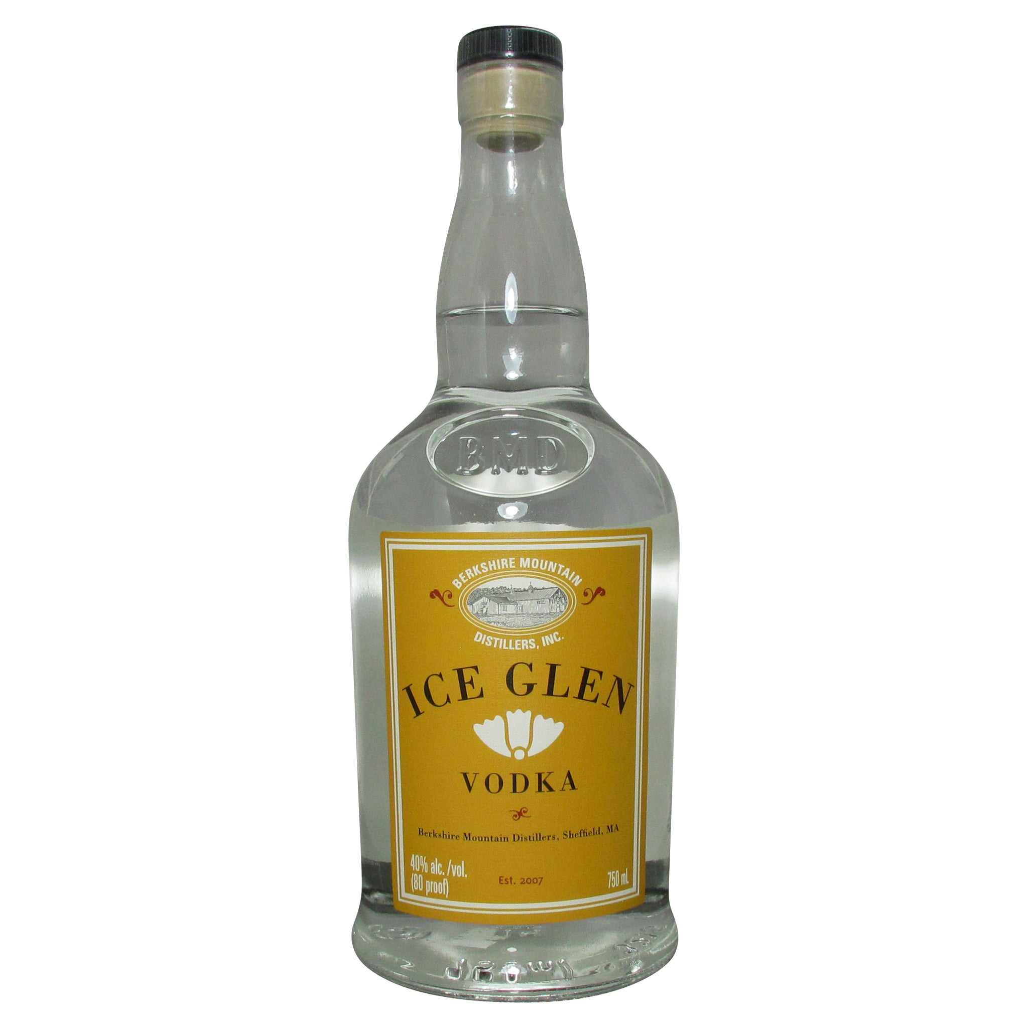 Berkshires Mountain Distillery Ice Glen Vodka