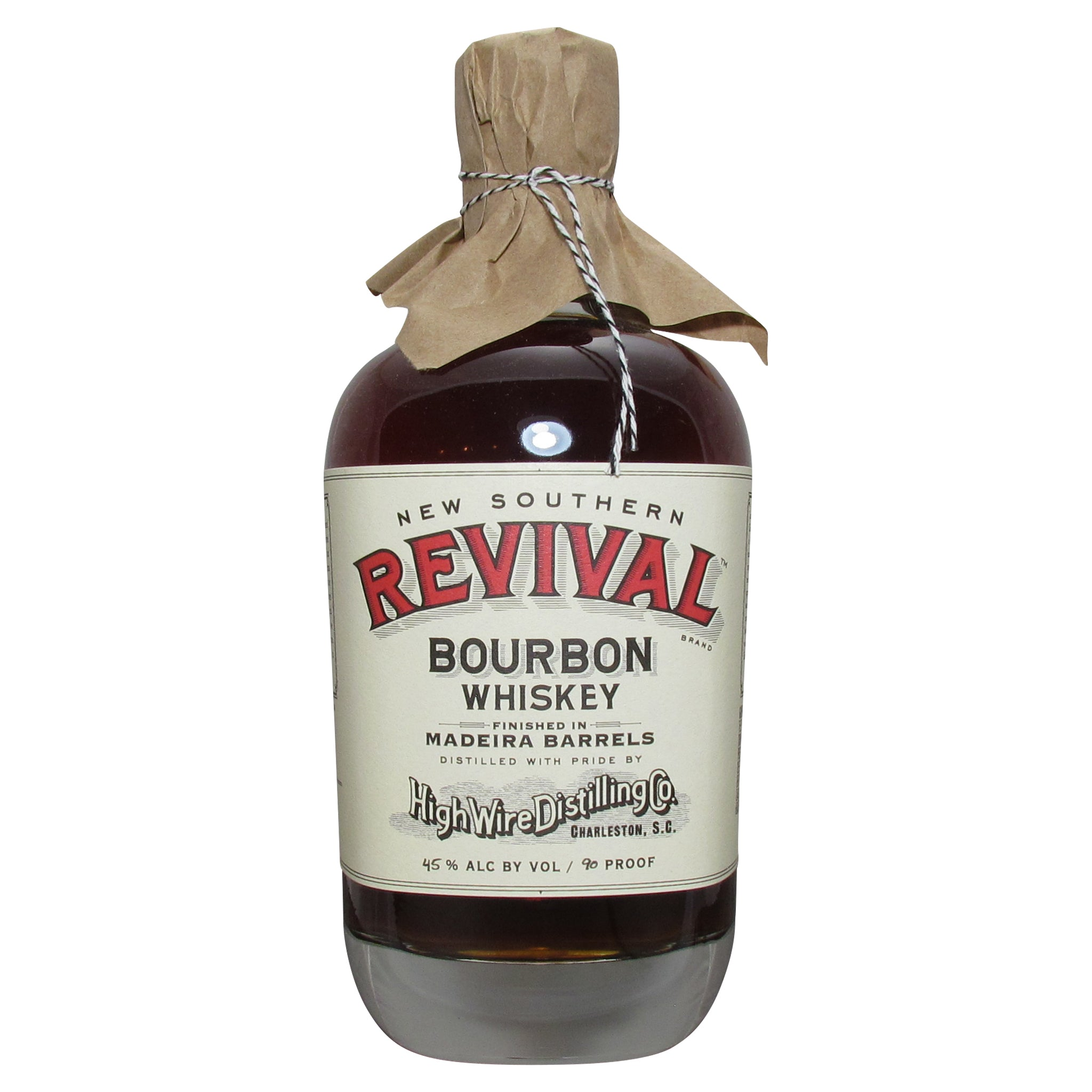 High Wire Revival Bourbon Whiskey Finished in Madeira Barrels