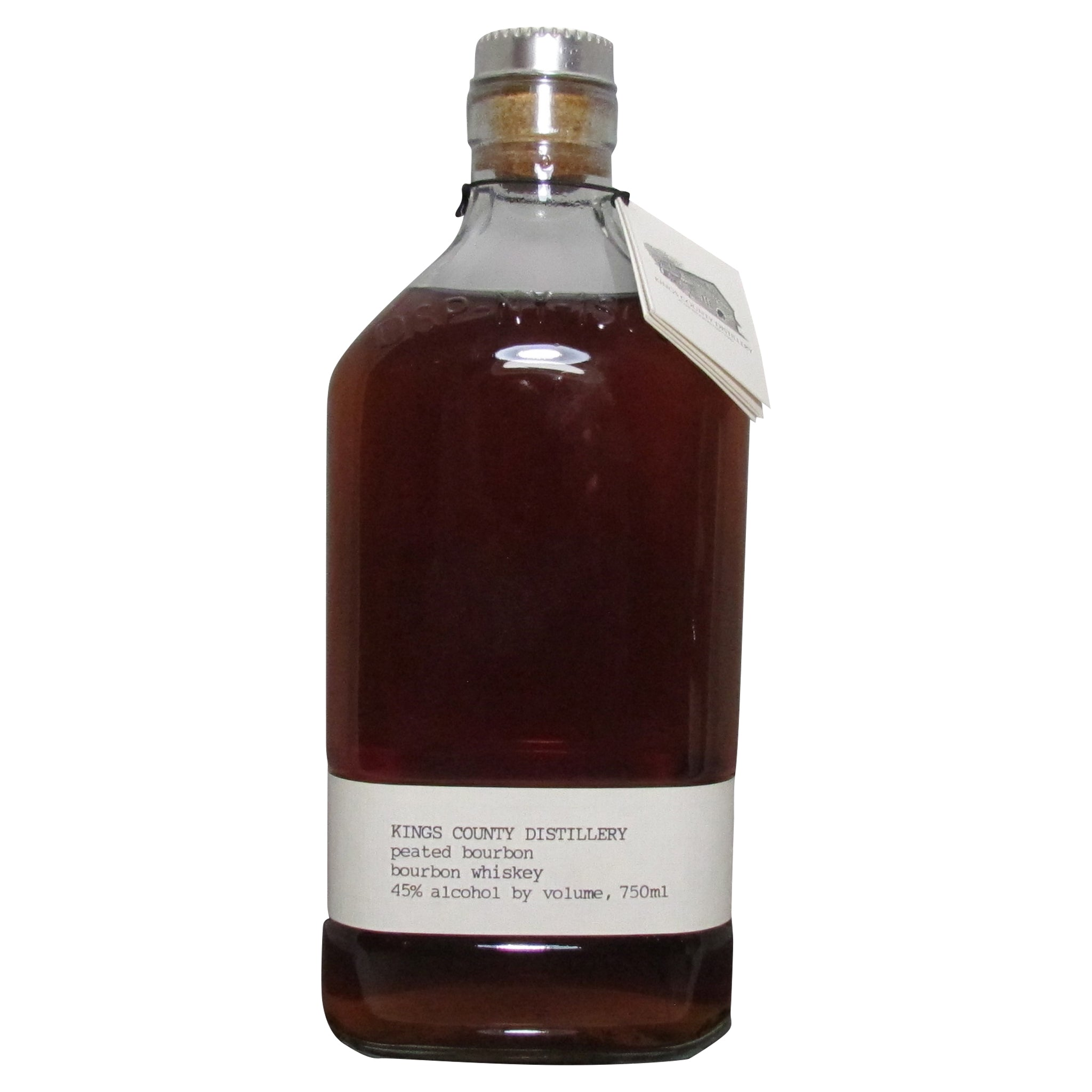 Kings County Distillers Peated Bourbon Whiskey