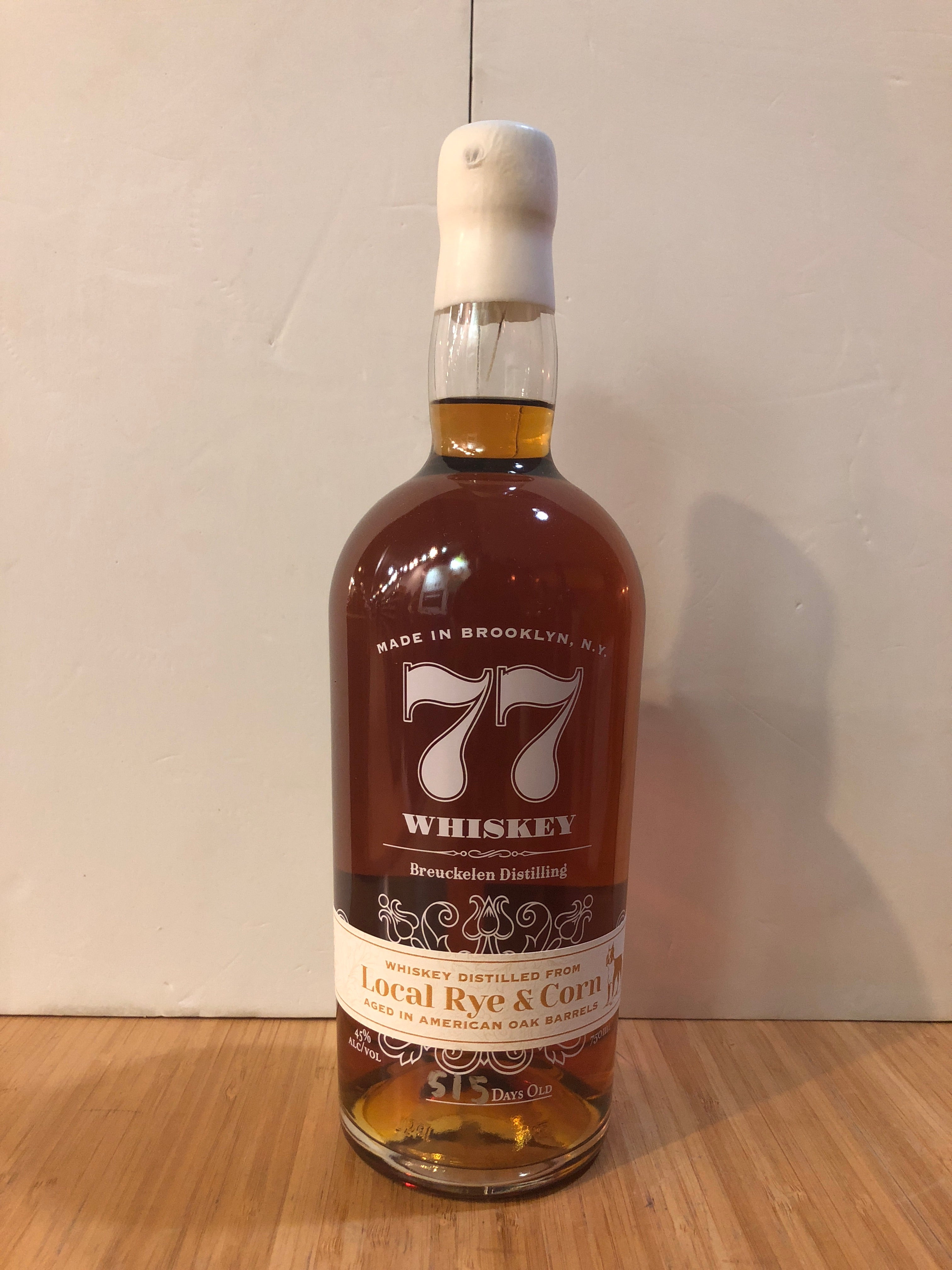 Breuckelen Distilling 77 Whiskey Local Rye & Corn