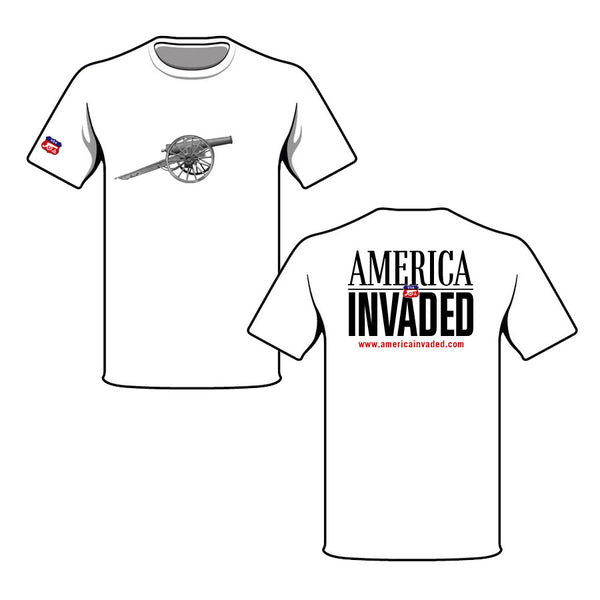 Americ Invaded Cannon T-Shirt