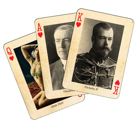 Adventure in 1914: Playing Cards