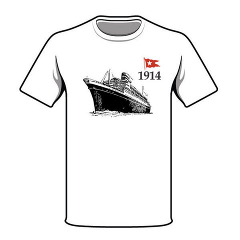 Adventure in 1914: White Star T-Shirt