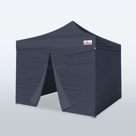 10x10 Pop Up Canopy Tent | EcoShade Gazebo Tent Walls - Deluxe Canopy