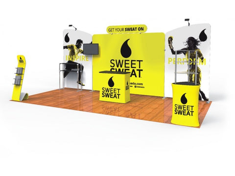 10x20FT Exhibition Booth Display DC-13