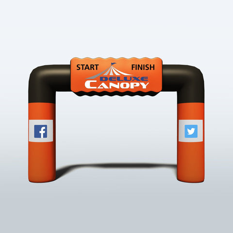 Inflatable Event Arch | Custom Made Inflatable Arch - Deluxe Canopy