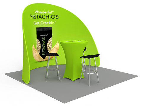 10ft Exhibition Booth Display DC-08