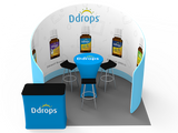 10ft Exhibition Booth Display DC-09