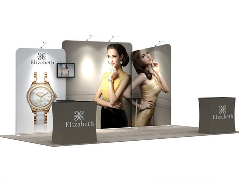 10x20FT Exhibition Booth Display DC-06