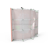 Curved Pop Up Banner Stand | Hopup Trade show Backdrop - Deluxe Canopy