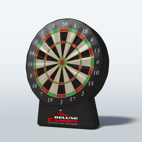 Inflatable Dart Board Game | Interactive Inflatables Canada | Deluxe Canopy