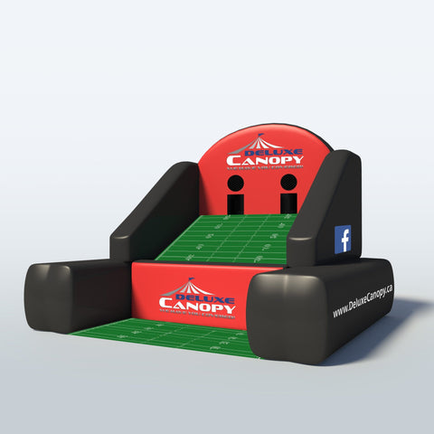 Inflatable Football Toss Canada | Interactive Inflatable Game | Deluxe Canopy
