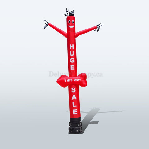 Huge Sale Inflatable Air Dancer | Custom Sky Tube Man - Deluxe Canopy