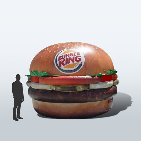 Inflatable Burger - Deluxe Canopies Canada