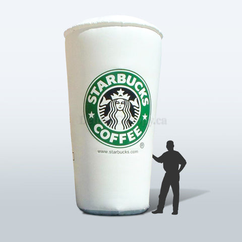 Inflatable Cup, advertise, cup, inflatable, mcdonalds, promo, promotional, shawarma, starbucks, subway, tim hortons, Deluxe Canopy, Deluxe Canopy