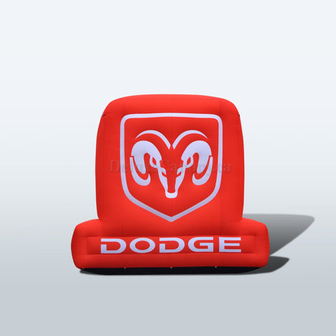 Inflatable Dodge Logo, advertise, cup, inflatable, mcdonalds, promo, promotional, shawarma, starbucks, subway, tim hortons, Deluxe Canopy, Deluxe Canopy