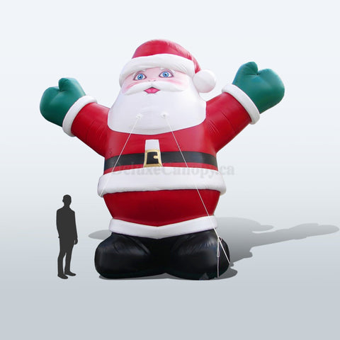 Inflatable Santa - Deluxe Canopy