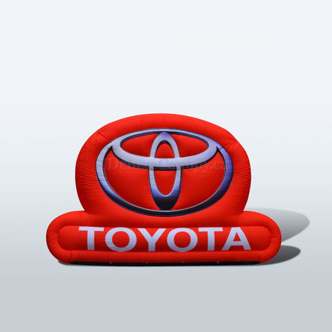 Inflatable Toyota Logo Replica | Custom Inflatables Canada |  Deluxe Canopy