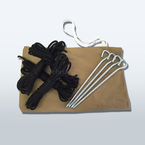 Stakes & Ropes - Deluxe Canopies Canada