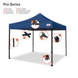 10x10 Pop Up Canopy Tent | Pro Series Gazebo Instant Shelter - Deluxe Canopy