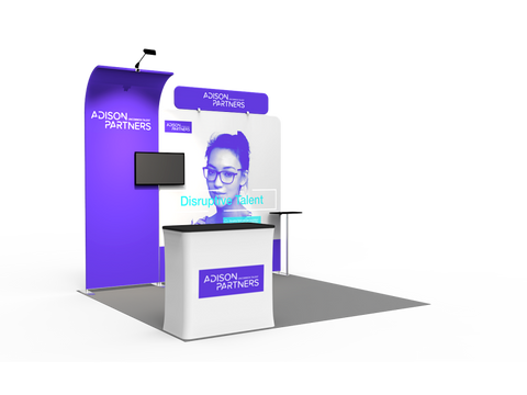 10ft Exhibition Booth Display DC-02