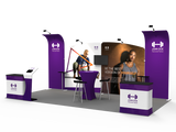 10x20FT Exhibition Booth Display DC-02
