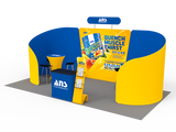 10x20FT Exhibition Booth Display DC-21