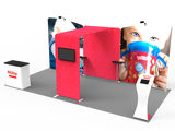10x20FT Exhibition Booth Display DC-23