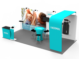 10x20FT Exhibition Booth Display DC-07
