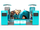 10x20FT Exhibition Booth Display DC-08
