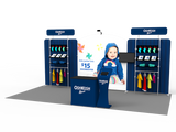 10x20FT Exhibition Booth Display DC-28