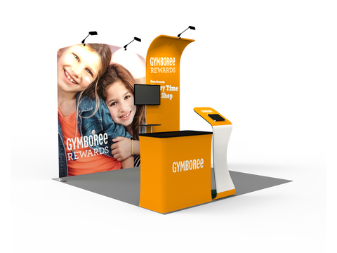 10ft Exhibition Booth Display DC-03