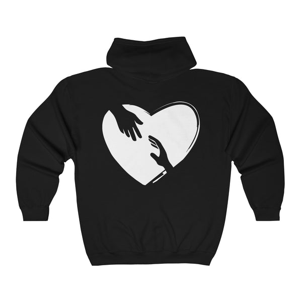 Unisex Heavy Blend™ Full Zip Hooded Sweatshirt - Worldwide shipping