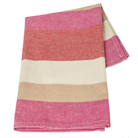 Handloom Cotton - Cherry Cocoa