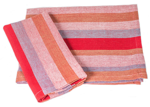 Handloom Cotton - Picnic Stripes