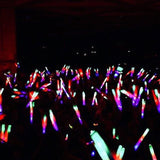 100 Pack Customized 3 Mode LED Foam Stick