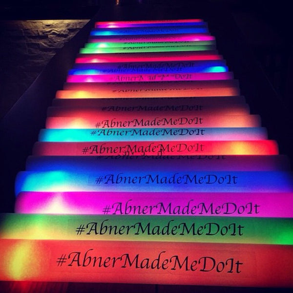 6 Mode Multicolor LED Foam Stick