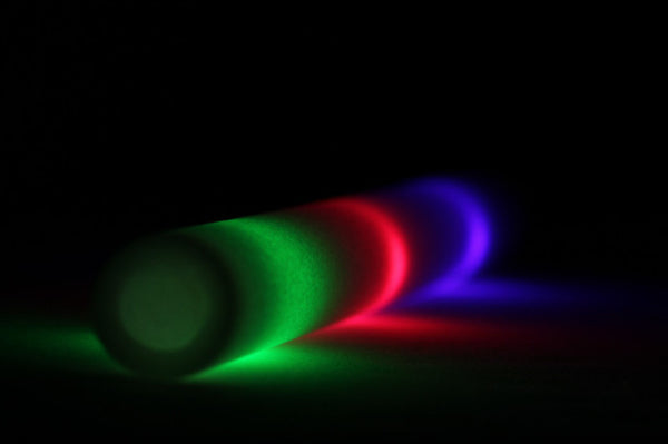 3 Mode Multicolor LED Foam Stick - Promotional Party Sticks - 1