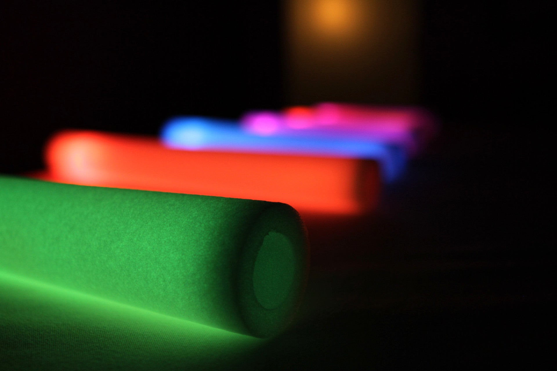 6 Mode Multicolor LED Foam Stick - Promotional Party Sticks - 1