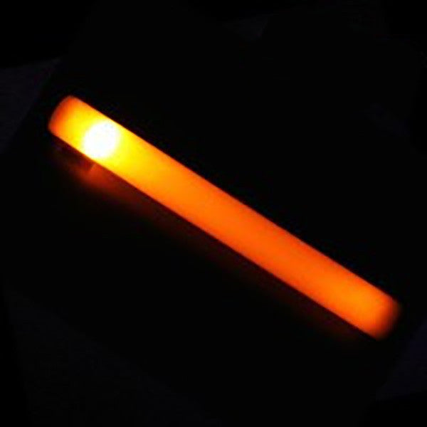 Orange LED Foam Stick - Promotional Party Sticks  - 4