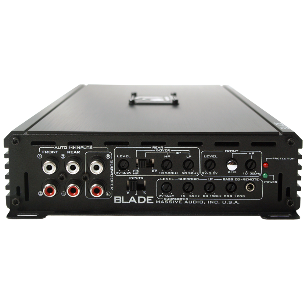"NOW Shipping! TWELVE (12) Massive Audio ""BLADE BP Series Amplifiers"""