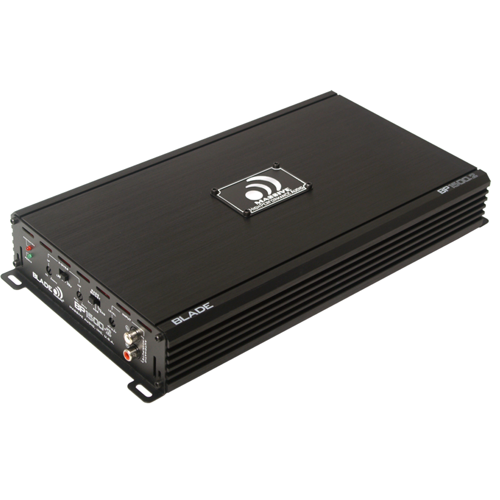 BP1500.2 - 240 Watts RMS x 2 @ 4 Ohm 2 Channel Amplifier