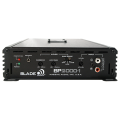 BP2000.1 - 1000 Watts RMS x 1 @ 1 Ohm Digital Mono Amplifier