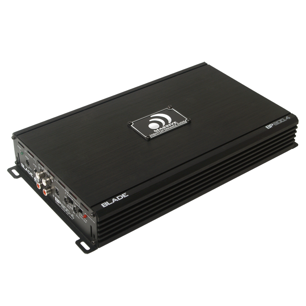 BP800.4 - 60 Watts RMS x 4 @ 4 Ohm 4 Channel Amplifier