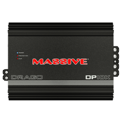 DP10K - 5,000 Watts RMS / 10,000 Watts MAX @ 1 Ohm Mono Block Amplifier
