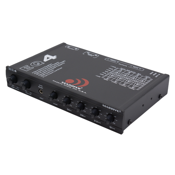 EQ4 - 4 Band Car Audio Graphic Equalizer