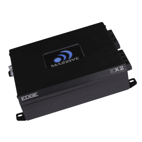 EX2 - 2 Channel Amplifier<p>(Built-In OEM Line Converter)