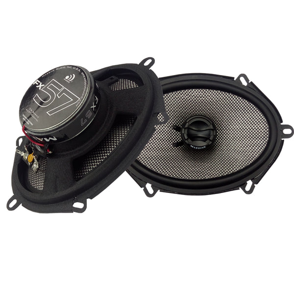 "FX57 - 5""x7"" 2-Way 70 Watts RMS Coaxial Speakers"